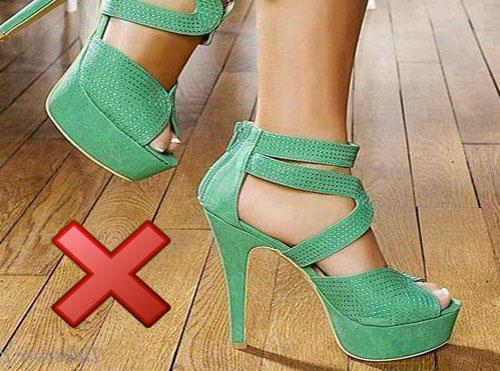 high heel damage wood floor